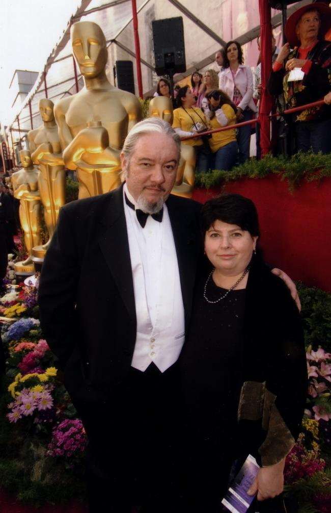Tom & Pat at the Oscars, Hollywood, 2007