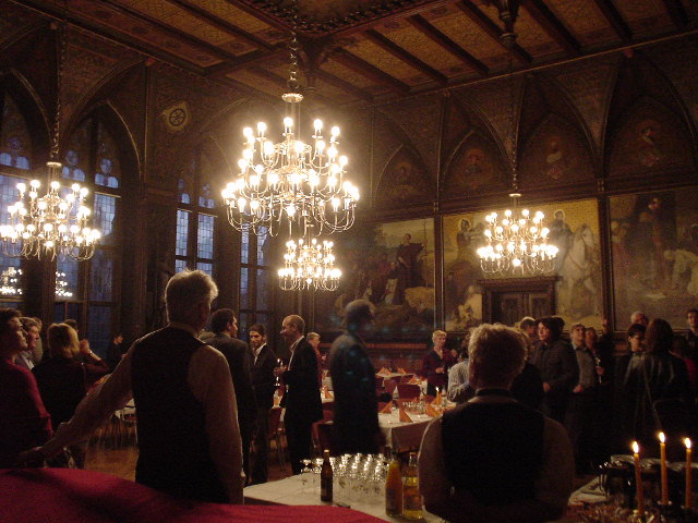 Guildhall Party, Erfurt Germany