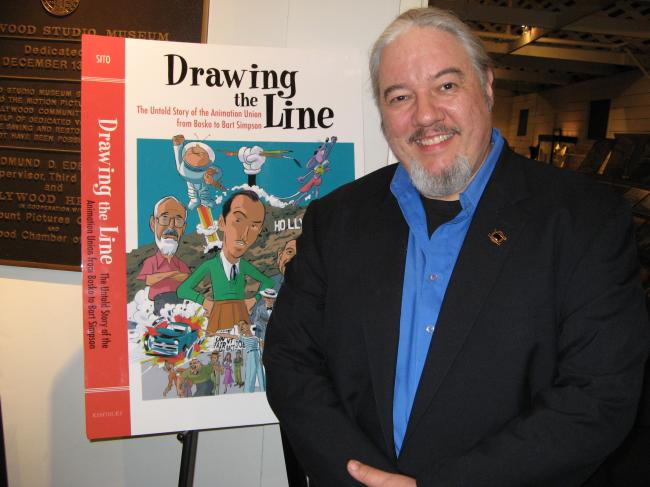 Tom Sito at the Hollywood Studio Museum Dec, 2006