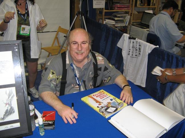 Eric Goldberg signing at Comicon 08